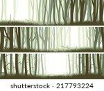 set horizontal banners inside... | Shutterstock .eps vector #217793224