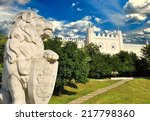 medieval royal castle in lublin ... | Shutterstock . vector #217798360