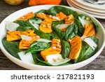 Spinach Salad With Roasted...