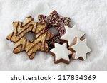 christmas sweets   Shutterstock . vector #217834369