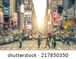 manhattan  new york city  ... | Shutterstock . vector #217850350