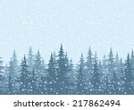 seamless horizontal background  ... | Shutterstock .eps vector #217862494