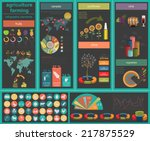 agriculture  animal husbandry... | Shutterstock .eps vector #217875529