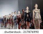 new york  ny  usa   september... | Shutterstock . vector #217876990