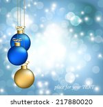 christmas abstract background   Shutterstock .eps vector #217880020