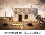 House Ghost Town  Colorado  Usa