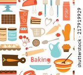 A Colorful Baking  Semaless...