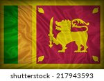 Sri Lanka Flag Pattern On The...