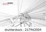 abstract architecture | Shutterstock .eps vector #217962004