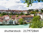 panoramic view on the... | Shutterstock . vector #217972864