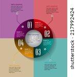 colorful creative design modern ... | Shutterstock .eps vector #217992424