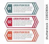 hexagon shape web banner... | Shutterstock .eps vector #218028064