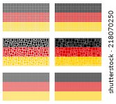 Mosaic Germany Flag Set
