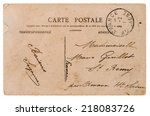 Antique French Postcard  From...