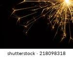 Party Sparkler Detail In Corner