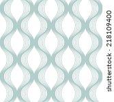 vector seamless pattern. modern ... | Shutterstock .eps vector #218109400