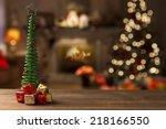 christmas background | Shutterstock . vector #218166550