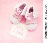 baby shoes | Shutterstock . vector #218167054