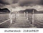 Boat Dock In Lugano ...