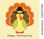 Cute Thanksgiving Turkey As...