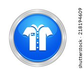 beautiful shirt web icon | Shutterstock .eps vector #218194609
