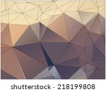 abstract geometric background... | Shutterstock .eps vector #218199808