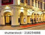 vienna  austria   september 17  ... | Shutterstock . vector #218254888