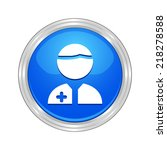 beautiful medical people web... | Shutterstock .eps vector #218278588