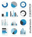 set of infographics elements | Shutterstock .eps vector #218309929