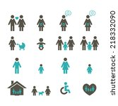 family icon | Shutterstock .eps vector #218332090