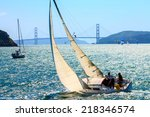 Sailboats In The San Francisco...