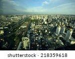 bangkok city | Shutterstock . vector #218359618