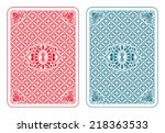 Playing Cards Back Two Colors ...