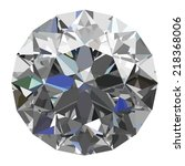 diamond . vector illustration | Shutterstock .eps vector #218368006