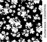 flower pattern | Shutterstock .eps vector #218369446