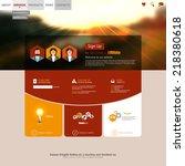 autumn style website template...