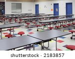 Stock photo elementary school cafeteria 2183857