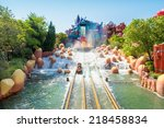 orlando usa   august 24  2014   ... | Shutterstock . vector #218458834