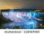 Niagara Falls Closeup Panorama...