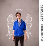 Young Man With Angel...