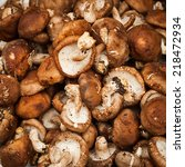 Mushrooms. Vegetables And Herb...
