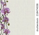 pale background with purple...   Shutterstock .eps vector #218474038