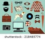 mister   design elements and...   Shutterstock .eps vector #218485774