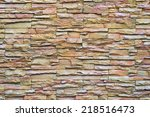 pattern gray color of modern... | Shutterstock . vector #218516473
