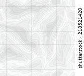 seamless light topographic topo ... | Shutterstock .eps vector #218521420