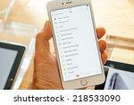 paris  france   september 20 ... | Shutterstock . vector #218533090