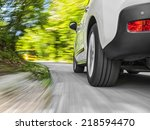 driving in the curve | Shutterstock . vector #218594470
