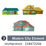 flat vector illustration of... | Shutterstock .eps vector #218672206