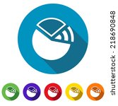 beautiful diagram web icon