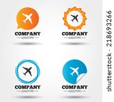 airplane sign. plane symbol.... | Shutterstock .eps vector #218693266